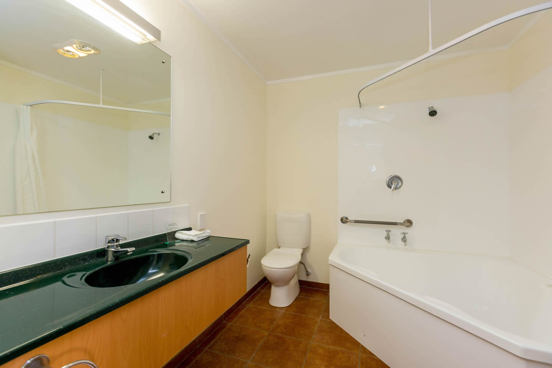 One Bedroom Unit Bathroom