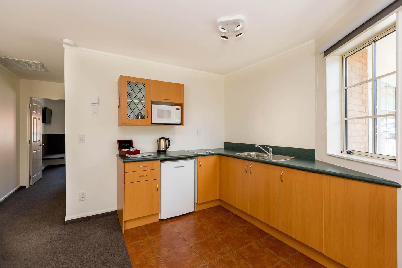 One Bedroom Unit Kitchen