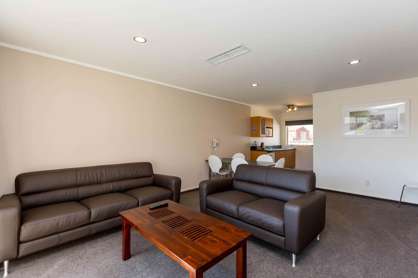 Two Bedroom Unit Living